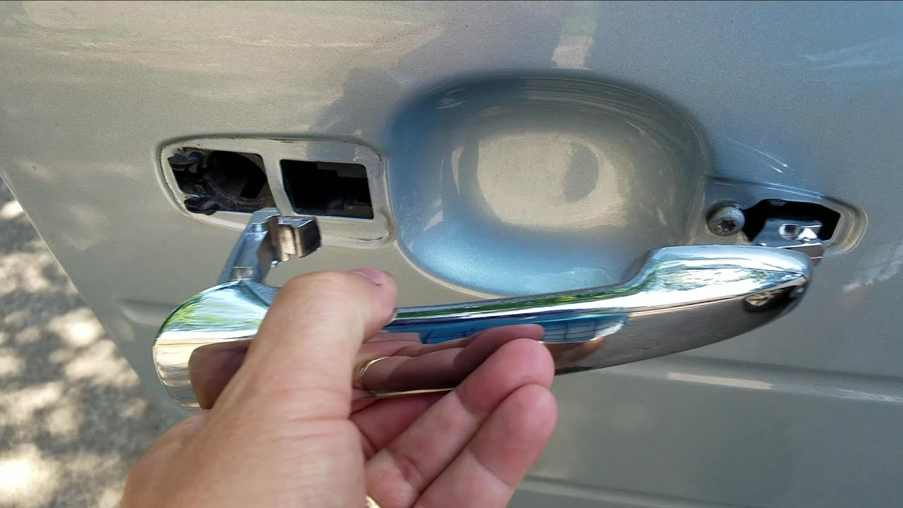 How To Replace A Ford Flex Edge Door Handle Youtube