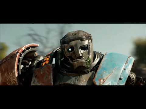 """Real Steel""""Atom Vs Metro""""[FullHD 1080p]"""