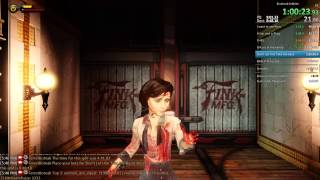 Bioshock Infinite Speedrun Former World Record - 1:49:07
