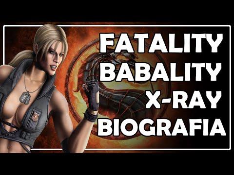 Mortal Kombat 9 ( PC 1080p ) - Sonya Blade ( Fatality Babality X Ray Biografia )