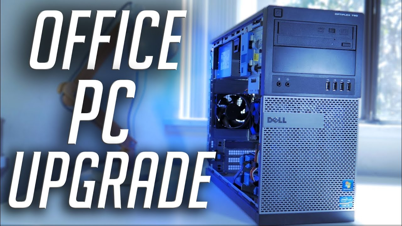 How To Turn An Old Office Computer Into A Gaming Pc