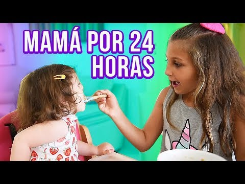 MAMÁ POR 24 HORAS - FUI NIÑERA POR UN DÍA 💜 Mimi Land