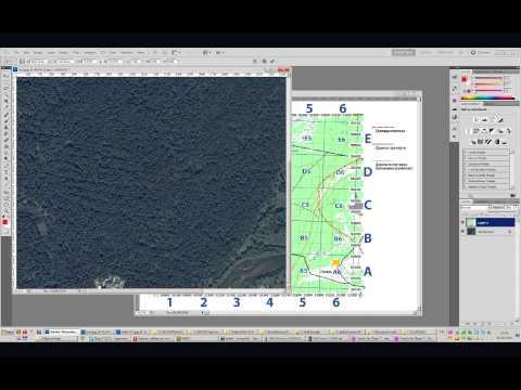 Как привязать карту для OziExplorer