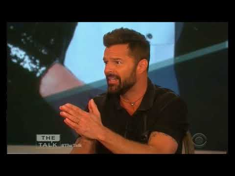 (INTERVIEW) Ricky Martin on The Talk CBS (March 6, 2018)