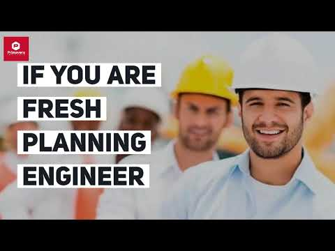 Planning Engineer JOB ROLE in Industry