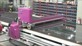 Automatic Glass Loading Cutting Breaking Line - CMS Glass Machinery