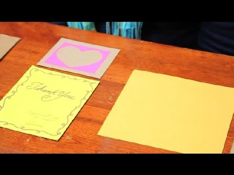 how to make folding cards