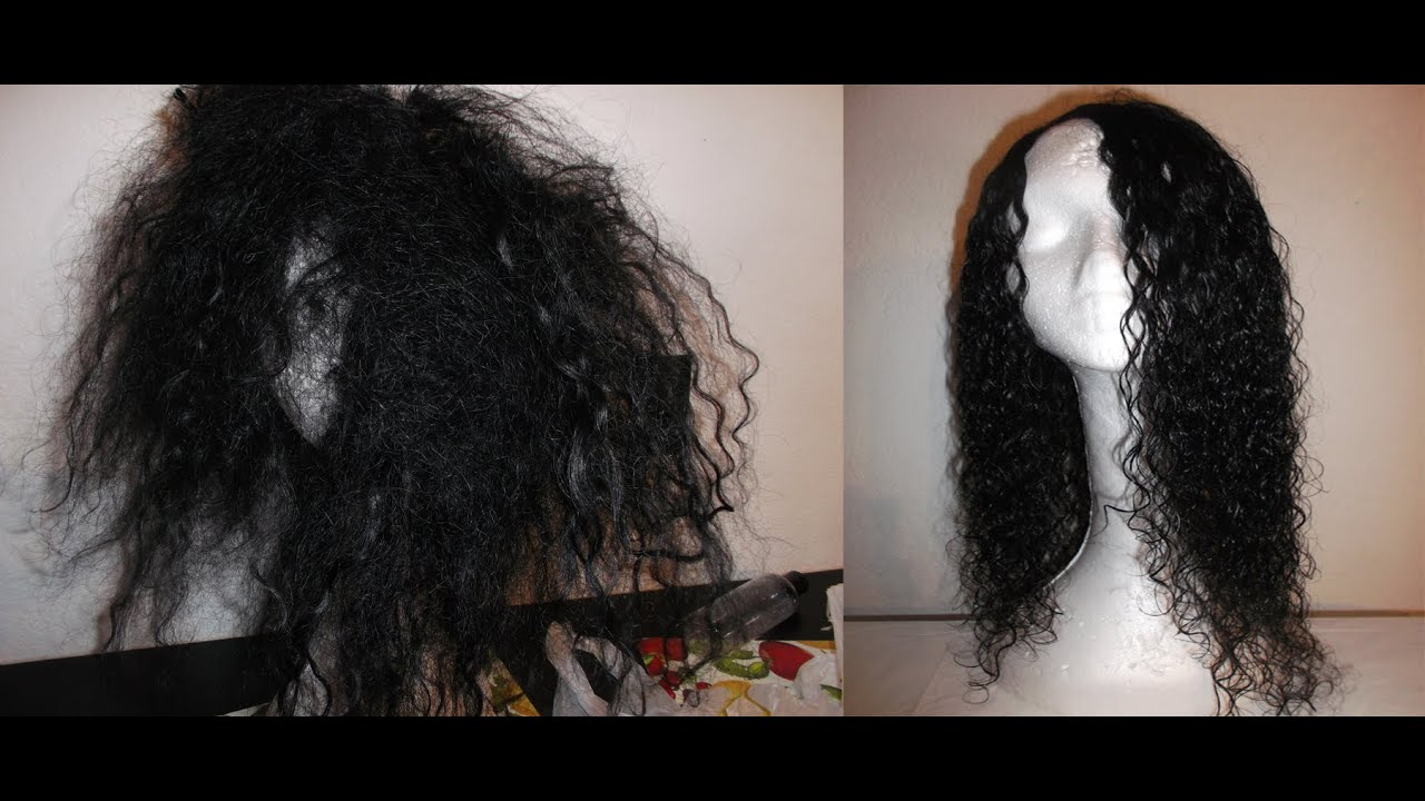 An Amazing Rejuvenation Of Matted Tangled Wavy Weft Hair Youtube