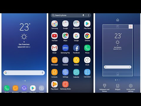 S8 Touch wiz home & UI for any Android 2018 // by tech squad pro