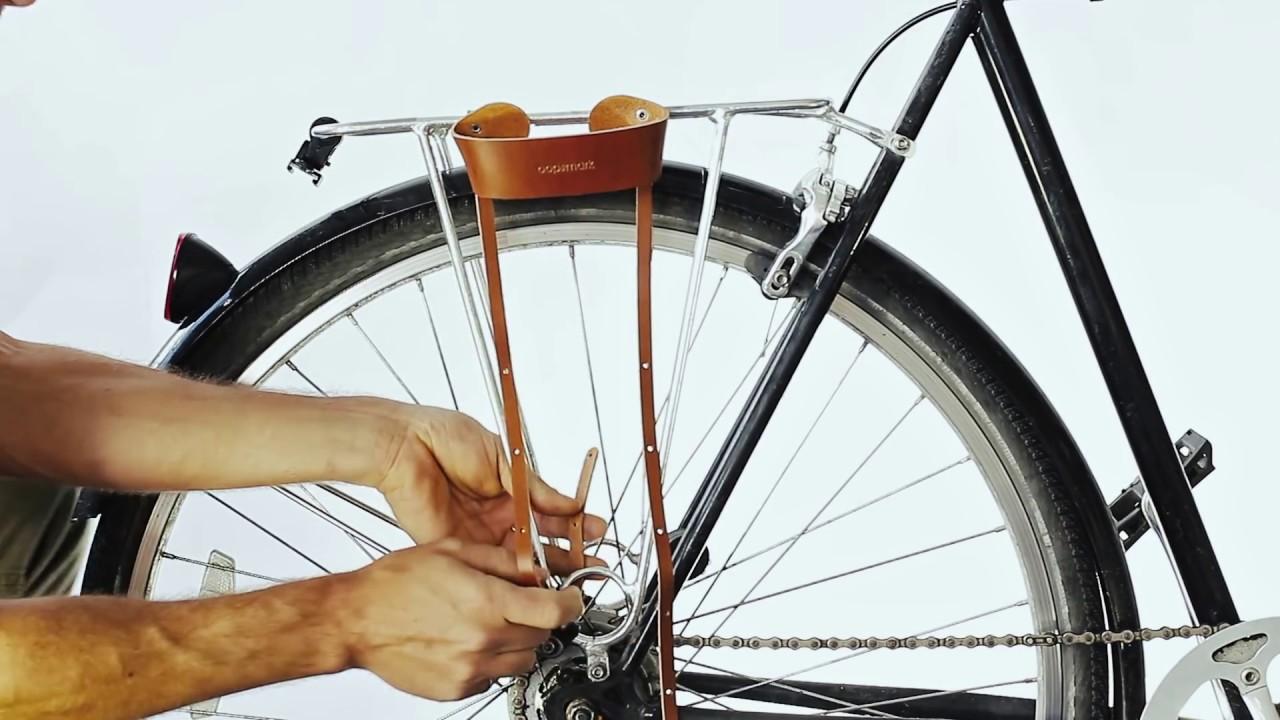 Y-Not Belt Mounted Bicycle U-Lock Holster
