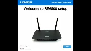 How to Setup Linksys RE 6500 Range Extender l Dual Band