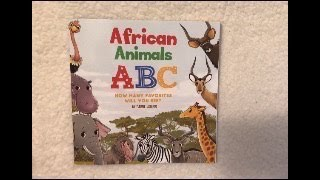 5yo-African Animals ABC