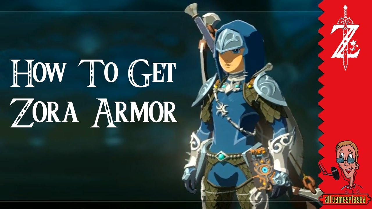 How To Get The Full Zora Armor  All Locations  Zelda: Breath Of The Wild  [nintendo Switch]