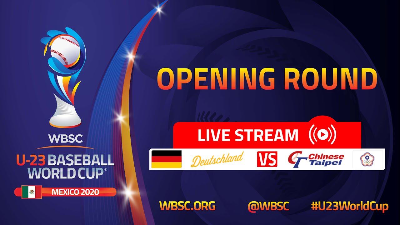Germany v Chinese Taipei - U-23 Baseball World Cup Mexico 2020 - Opening Round