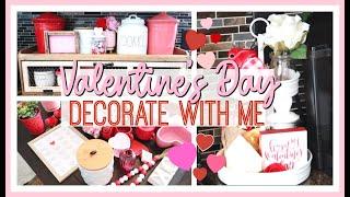 VALENTINE'S DAY DECORATE WITH ME 2020 | VALENTINE'S DAY DECOR IDEAS