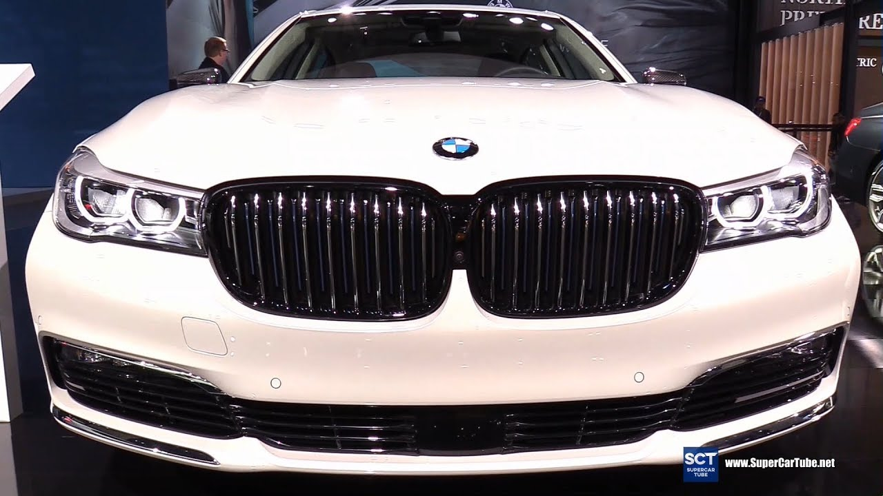 2018 bmw 7 series 740e exterior and interior walkaround 2017 la auto show youtube. Black Bedroom Furniture Sets. Home Design Ideas