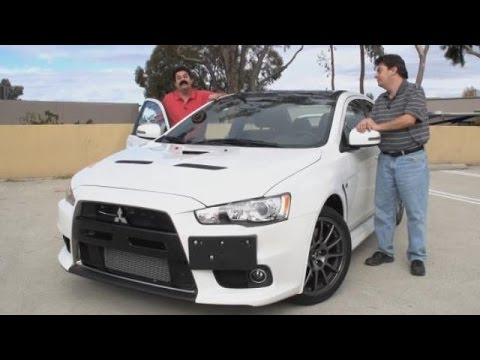 2015 mitsubishi lancer evolution x final edition test drive video