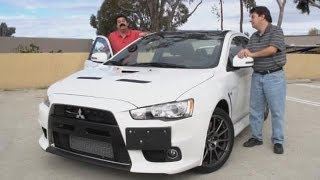 Mitsubishi Lancer EVO Concept X Videos