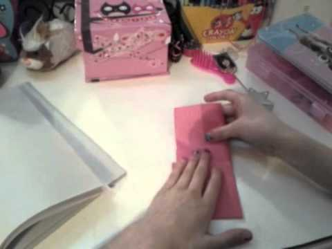 How to make a origami wallet