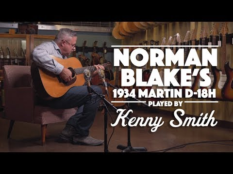 Norman Blake's '34 D-18H Played By Kenny Smith