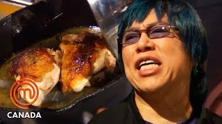 1 Pan, 1 Burner \u0026 1 Chicken | MasterChef Canada | MasterChef World