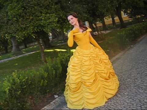 Disney S Princess Belle Cosplay Youtube