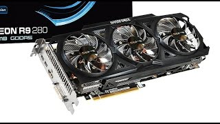 Review  R9 280 OC GIGABYTE 3GB