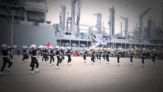 2014.03.16中華民國海軍103年敦睦遠航高雄新濱碼頭海軍儀隊表演