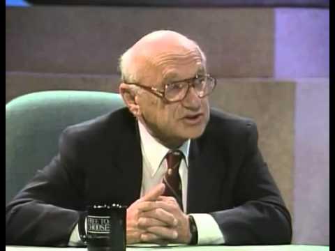 Michael Kinsley schools Milton Friedman