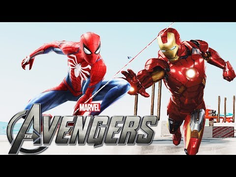 INSOMNIAC TEASING NEW AVENGERS GAME WITH SPIDER-MAN PS4? Huge Reveal At E3 2018?