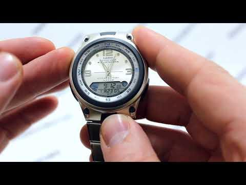 Часы Casio Fishing Gear AW-82D-7A - Инструкция, как настроить от PresidentWatches.Ru