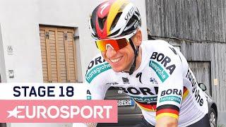 Giro d'Italia 2019   Stage 18 Highlights   Cycling   Eurosport