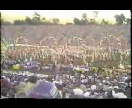 SUPER BOWL 21 HALFTIME SHOW PART 1 RUHS DANCE DRILL 1987