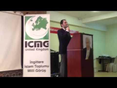 Fatih Erbakan'in Londra Konferansi 3  Bolum