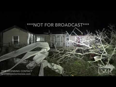 01-22-17 Albany, GA Tornado Damage