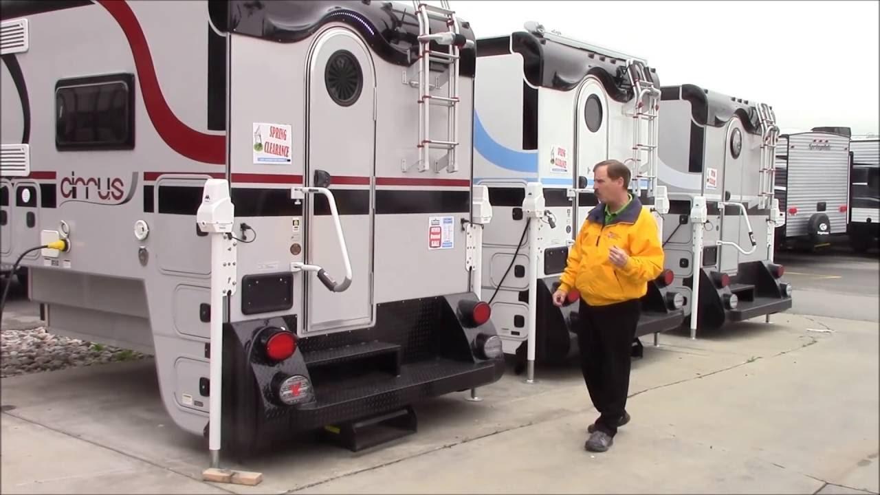 Cirrus 800 Truck Camper