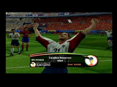 EA Sports FIFA World Cup 2002 - USA Playthrough