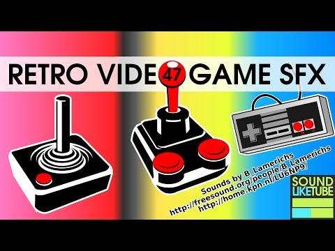 47 Retro Video Game Sound Effects [Free Hight Quality Download]