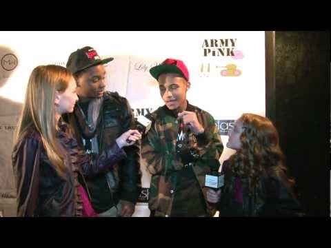 Reggie Range and Elijah Vegas Interview at Amber Lily's Music Video Launch Party in Hollywood