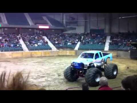 Fatal Attraction Monster Truck. Topeka, Kansas 2nd show!!!