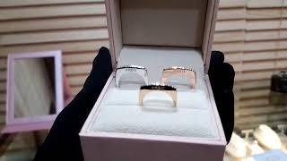 [헬로마켓] - 18k 다이아몬드 프레드 삼색링(200…