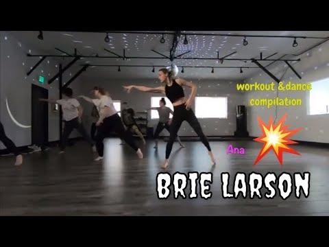 Brie Larson Dance Compilation   Behind The Scene Captain Marvel