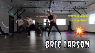 Brie Larson Dance Compilation | Behind the scene Captain Marvel