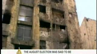AlJazeera News- Afghanistan 2009 Runoff Elections