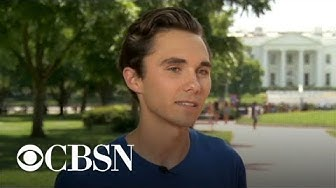 Parkland school shooting survivor David Hogg describes new gun control plan