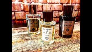Acqua di Parma Original, Intensa, and Colonia Oud Review of (3) Fragrances