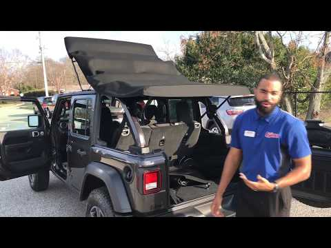 New 2018 Wrangler JL Soft Top Removal and Installation