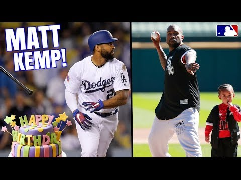 KANYE West Throws Out First Pitch! Matt Kemp Gets 1000th RBI on His Birthday! MLB Recap & Highlights