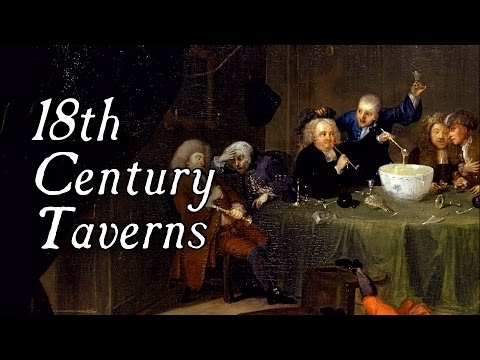 Taverns In The 18th Century - Q&A
