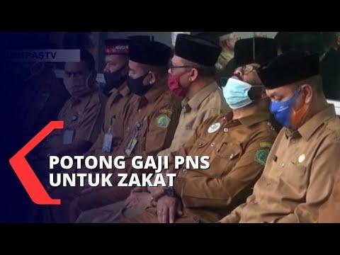 Baznas Ajukan Draf Gaji PNS Dipotong 2,5 Persen Untuk Zakat